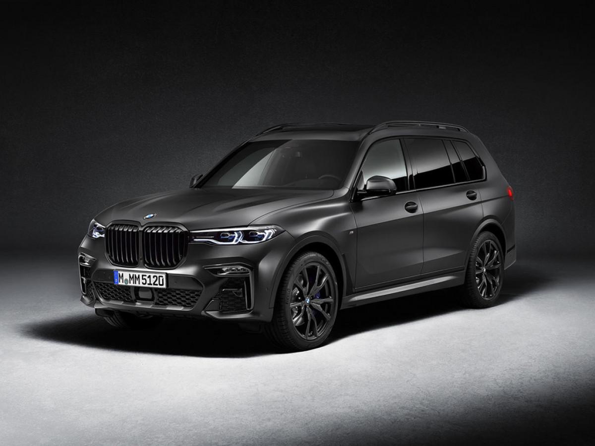 Стартует производство кроссовера BMW X7 в специальном исполнении Dark Shadow Edition.