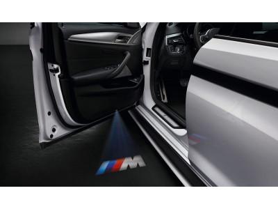 BMW светодиодные дверные проекторы 68 мм