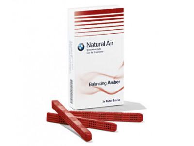 Комплект картриджей BMW Natural Air с ароматом Balancing Amber