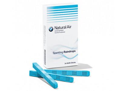 Комплект картриджей BMW Natural Air с ароматом Sparkling Raindrops