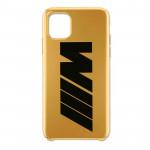 Чехол BMW M для IPhone 11 PRO, золотой