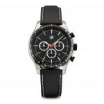 Мужской хронограф BMW с кожаным браслетом