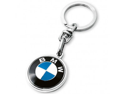 Брелок для ключей BMW Key Ring Pendant, SILVER