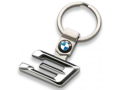 Брелок для ключей BMW 3 Series Key Ring, Silver