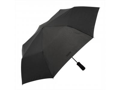 Складной зонт BMW в кейсе со светодиодной лампой, BLACK