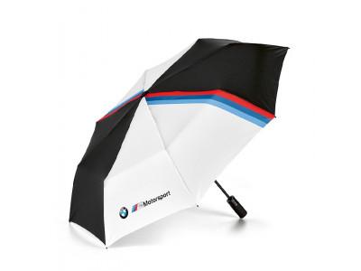 СКЛАДНОЙ ЗОНТ BMW M Motorsport Folding Umbrella, Black / White