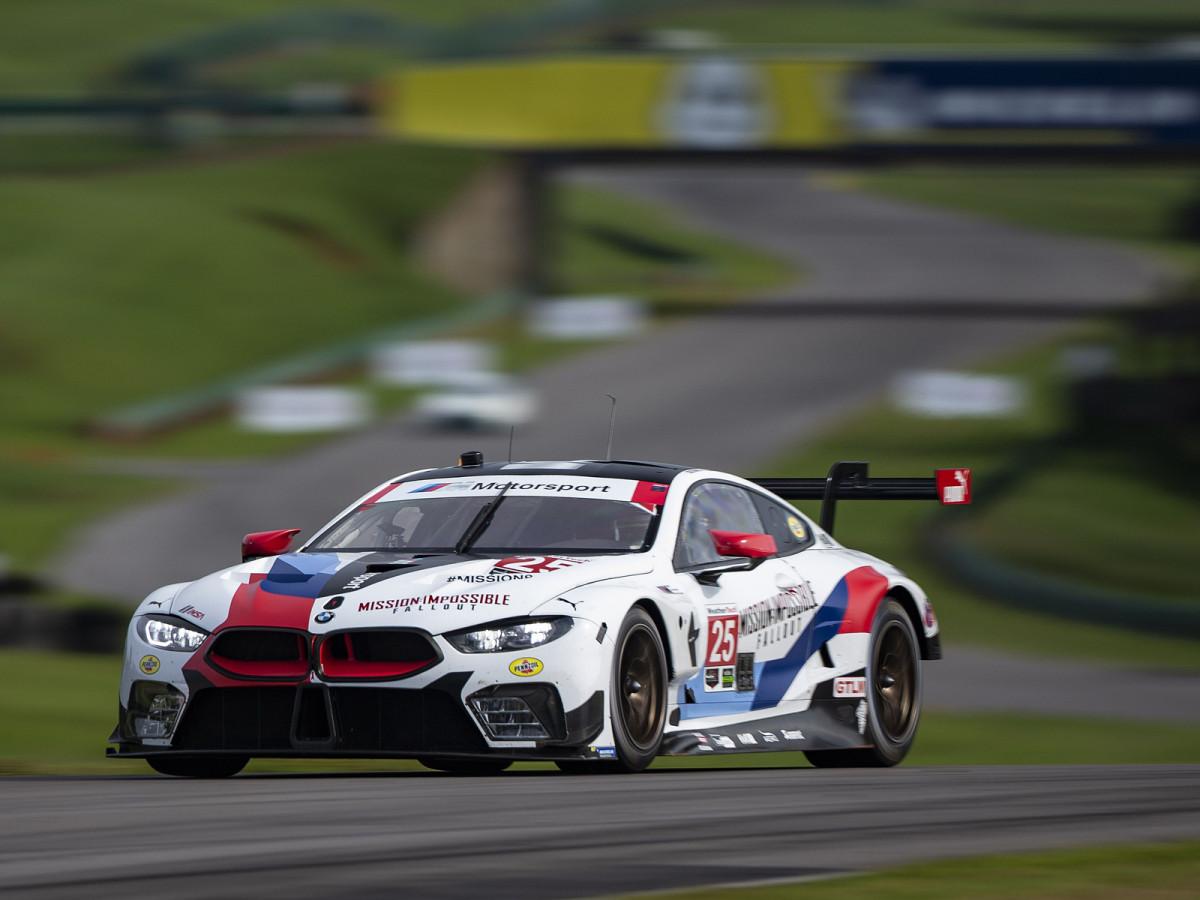 Спортивная команда BMW Motorsport выбирает Shell Helix Ultra.