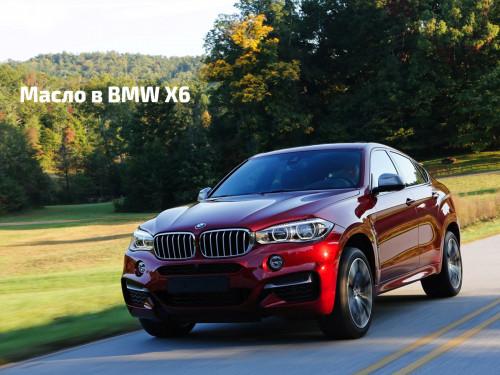 Масло в двигатель BMW X6